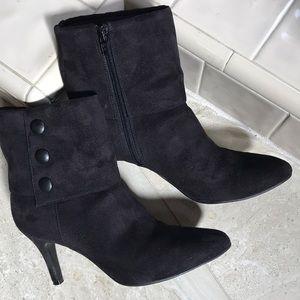 Black Fiona booties